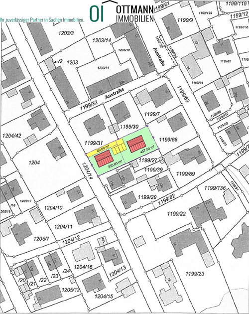 Lageplan Projekt Schwabach