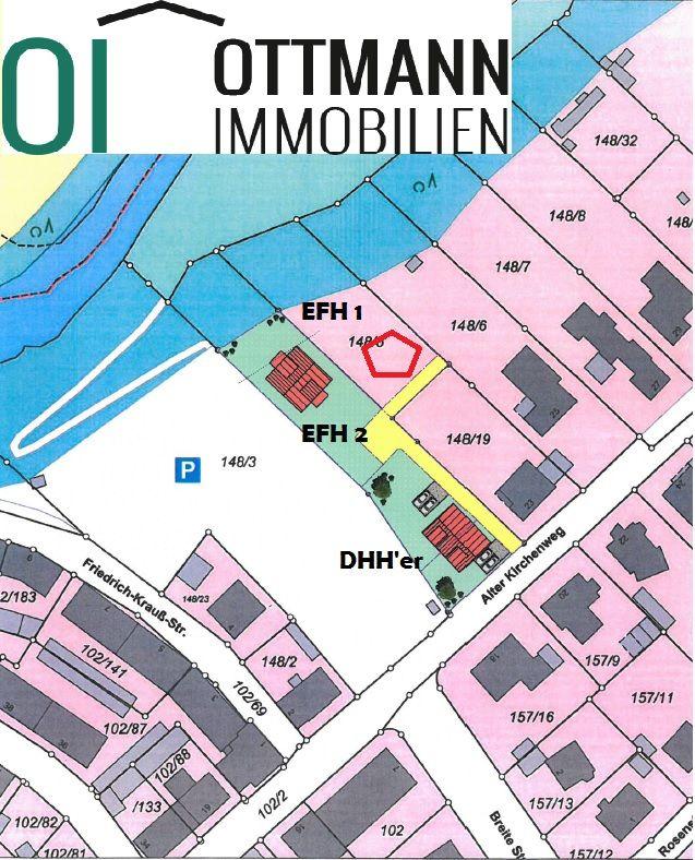 Lageplan Projekt Röthenbach an der Pegnitz